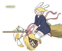 fiona's delivery service  Adventure time by kaiwii-chan