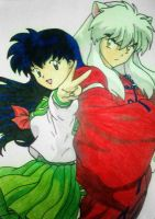 Kagome and Inuyasha by ChiaraTrancy