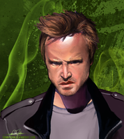 Jesse Pinkman!  Breaking Bad Speed Paint! by BonnyJohn