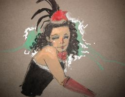Kiki's Paris Drawing Event - French Cabaret 2 by feeesh