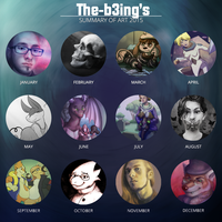 2015 Art Summary by the-b3ing
