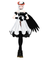 [MMD] Andrea : the Nephilim by ginconomp