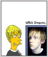 Devious bl0ck Simpson by yawn2oo