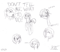 Nexi Sketches by Kell95