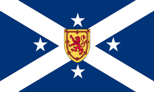 Alternate Flag of Nova Scotia by Alternateflags