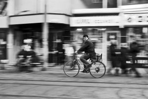 The Panning Bicycle by AhmetSelcuk