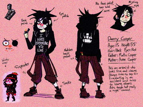 Danny the little Fricko by Retro-tv