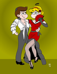 Flamenco With Star And Marco by GrouchoM