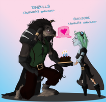 Happy lovey bday by miggea