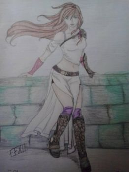 My Final Fantasy OC by LittleMouse91