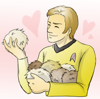 Tribbles are Love by SilverHyena