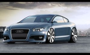 Audi A3 Coupe by Maettoe
