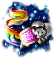 Nyan Cat by Vexcel