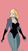 BlackCanary18C by TULIO19mx