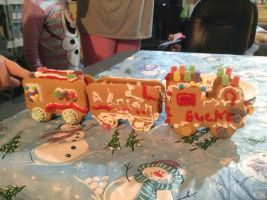 Ginger Bread Train 4 by CreepypastaGoth
