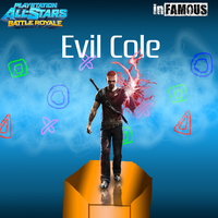 Evil Cole Wallpaper by CrossoverGamer