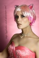 Pink Cat 34 by eyefeather-stock
