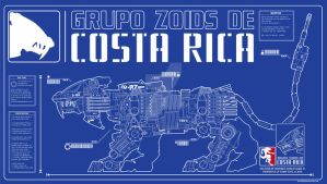 blueprint banner Zoids by siekfried
