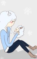 Ask Yeti Princess and Yeto by nadais1