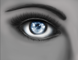 Eye-Digital Paint Practice by sapphiresky1410