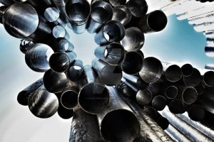 Sibelius monument in Helsinki by Saari-Dreams