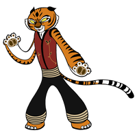 Master Tigress by SummerGal7