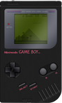 Nintendo Game Boy [Black] by BLUEamnesiac