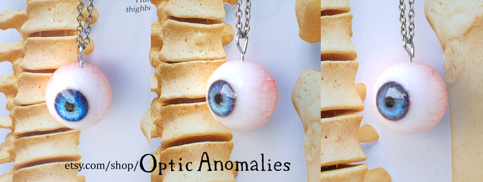 New Eyeball Pendants by JeyBarnes