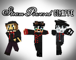 Steam Powered Giraffe Minecraft Style by RatherPeculiar