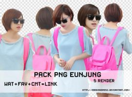 Pack #5 - PNG EUNJUNG by rankagome52