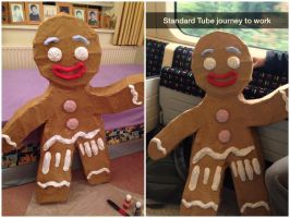 Gingerbread Man by finance-in-my-pants