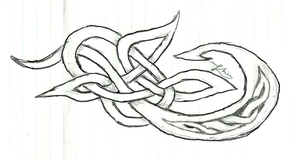 celtic knotwork by whimsicalyoghurt