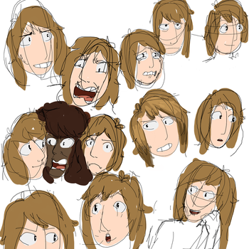 Expression page by TheBlueLemon26