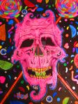 Candy skull fin ! by LissyWAR