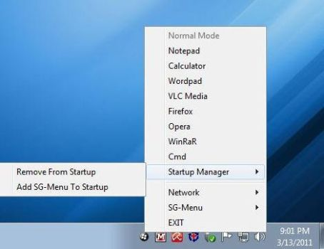 W7 Quick Access App Menu Addon by PC2012