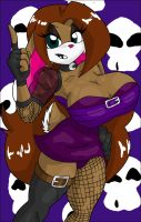 Lucky bunny gothic outfit by LuckyBucket46