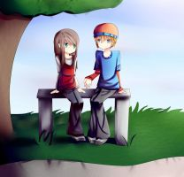 In the Park by Browniex
