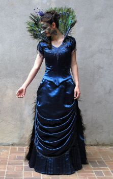 Victorian Peacock by Naboo-Girl
