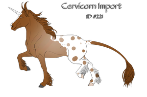 Cervicorn Import - ID 221 by Sommer-Studios