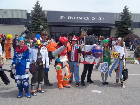 Super Smash Brothers Cosplay Anime North 2011 by OtakuPics