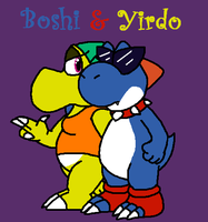 Boshi and Yirdo by GreggJanus