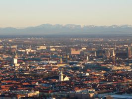 Muenchen am Abend 2 by simplereplication