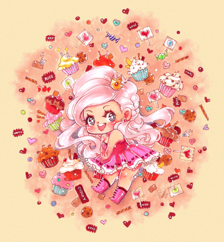 BD: Candy Princess by DyMaraway