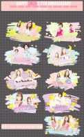 {SIGN} Happy SNSD's 7th Anniversary by honey289