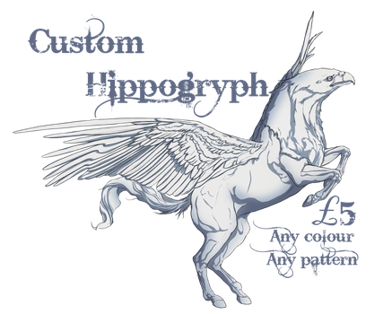 Customisable Hippogryph Character! by Blue-Willow-Tree
