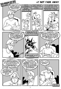 The Story Of The Comic Strip 7 by Wainyman