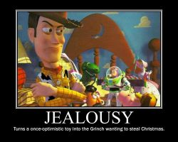 Toy Story Demote- Jealousy by VampiricYoshi