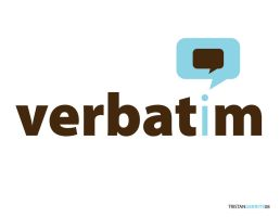 verbatim logo by Pencil-Dragonslayer
