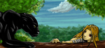 The Black Panther by 4healers