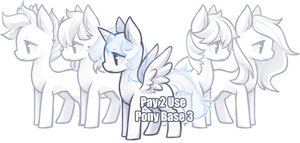Pony Base 3 [P2U] by BaseAdopts